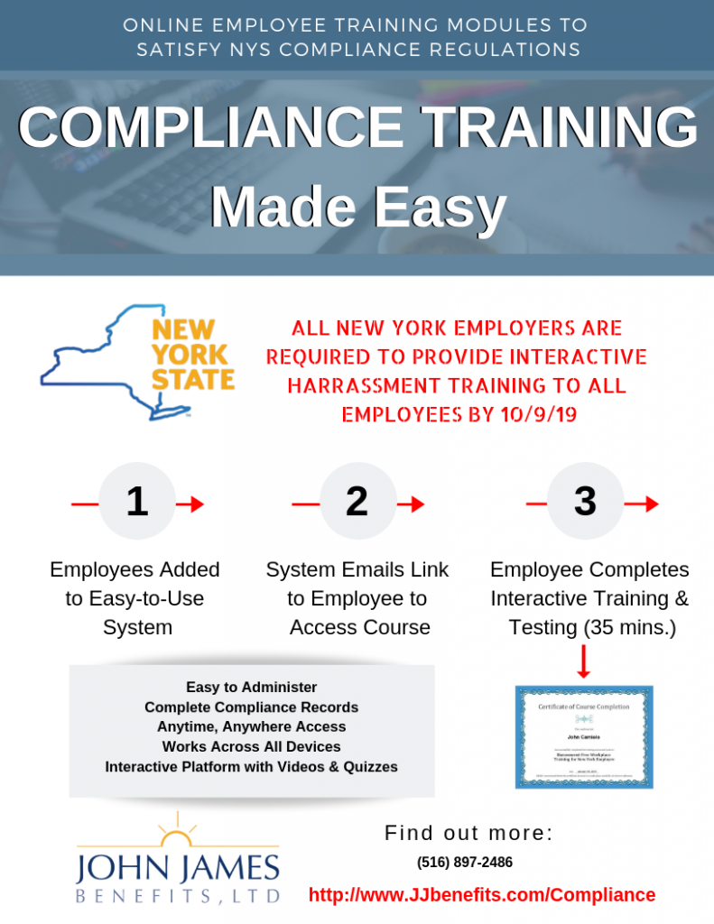 NYS sexual harassment law - Online Training for NYS Compliance